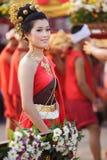 odziewa tajlandzkiej tradycyjnej kobiety Obraz Royalty Free