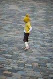 odziewa trochę ciepłej modnej dziewczyny Obraz Stock