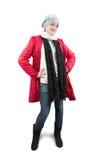 odziewa w górę zima ubierającej dziewczyny Zdjęcie Stock