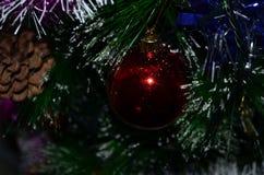 odznaczony świąteczne drzewko Obrazy Stock