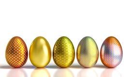 odznaczony Wielkanoc jajko Obrazy Stock