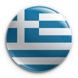odznaka grek bandery Zdjęcie Stock