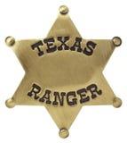 odznaka leśniczy Texas Zdjęcia Royalty Free