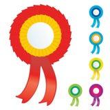 odznaka wektor Obrazy Royalty Free