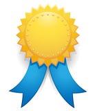 odznaka złota Obrazy Stock