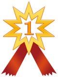 odznaki 1 gwiazda Zdjęcia Royalty Free