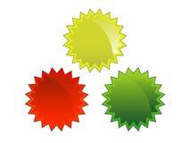 odznaki Obrazy Stock