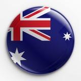 odznaki australijska flagę Fotografia Stock