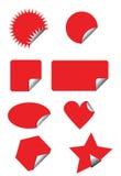 odznaki ceny naklejki wizowej Zdjęcia Royalty Free