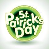 odznaki dzień Patrick s st Fotografia Stock