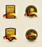 Odznaki kolekcja Obraz Stock