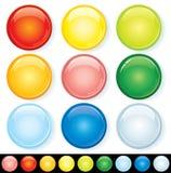 odznaki kolorowe Fotografia Stock