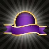 odznaki purpur faborek Zdjęcie Royalty Free
