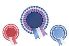 Odznaki tasiemkowa Paczka Obrazy Royalty Free