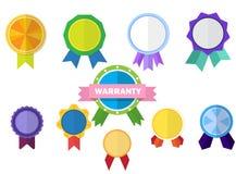 odznaki ustawiający wektor Obraz Royalty Free