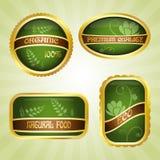 odznaki zielenieją faborek Obraz Royalty Free
