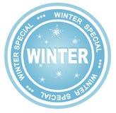 odznaki zima royalty ilustracja