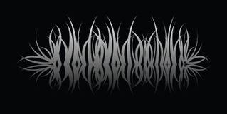 odzwierciedla trawy. Zdjęcie Stock