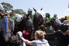 Odzyskuje Australia wiec - Melton Zdjęcia Royalty Free