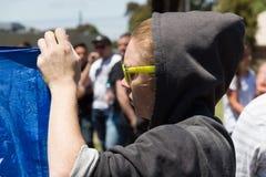 Odzyskuje Australia wiec - Melton Obrazy Stock