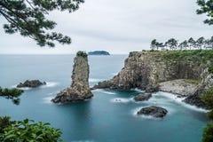Oedolgae Rock at Jeju Island, South Korea