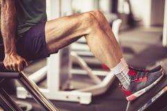 Oefening voor benen stock fotografie