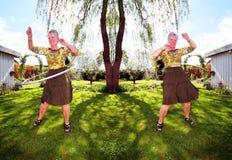 oefenings gepensioneerde stock foto