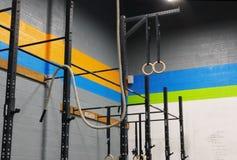 Oefeningskabel in een Gymnastiek royalty-vrije stock foto