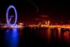 Oeil Angleterre de Londres Photos libres de droits