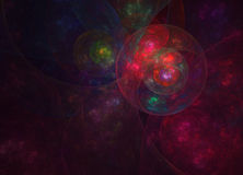 Oeil cosmique Photos libres de droits