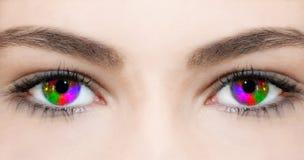 Oeil créatif photos stock