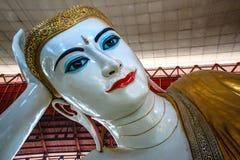 Oeil de bonbon à Bouddha Photo libre de droits
