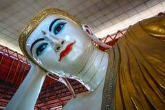 Oeil de bonbon à Bouddha Photographie stock libre de droits
