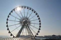 Oeil de Brighton Image libre de droits