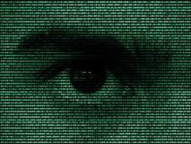 Oeil de Digital images libres de droits