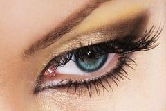 Oeil de femme photo libre de droits