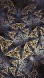 Oeil de fractale troisième images stock