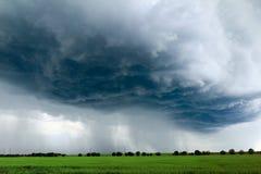 Oeil de la tempête Photographie stock