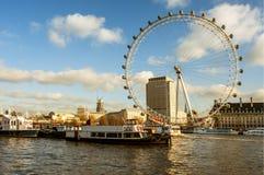 Oeil de Londres à Londres, Royaume-Uni Images stock