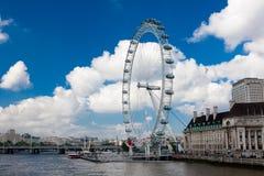 Oeil de Londres Photo libre de droits