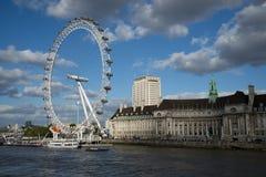 Oeil de Londres Photos libres de droits