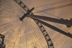 Oeil de Londres Image libre de droits