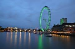 Oeil de Londres, Londres, Angleterre, R-U Photographie stock libre de droits