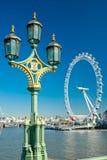 Oeil de Londres, R-U. Photographie stock