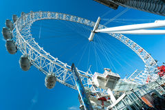 Oeil de Londres, R-U. Photo stock