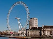 Oeil de Londres sur le côté du sud Photo libre de droits