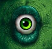 Oeil de monstre illustration de vecteur