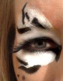Oeil du tigre Image stock