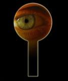 Oeil en trou de la serrure. VIP Image libre de droits