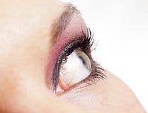 Oeil femelle Photo libre de droits